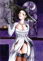 Lady Dimitrescu by Virus-Tormentor
