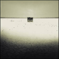 Salton Sea Duck Blind by perry