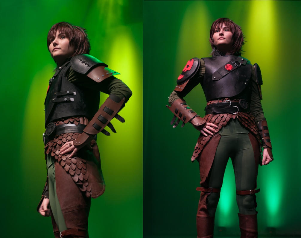 Older!Hiccup cosplay by AleKaiLin