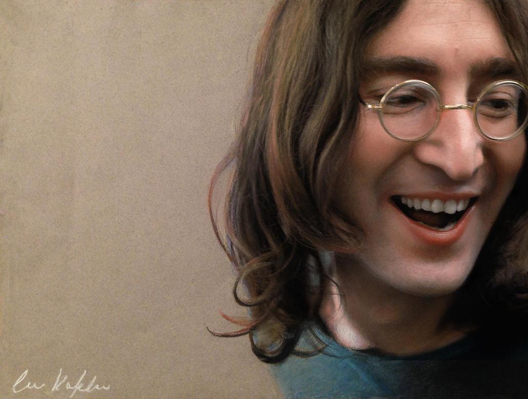 John Lennon By Old Ringo