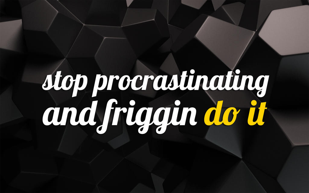 stop the procrastination Try these seven expert-approved strategies and stop procrastinating for good.