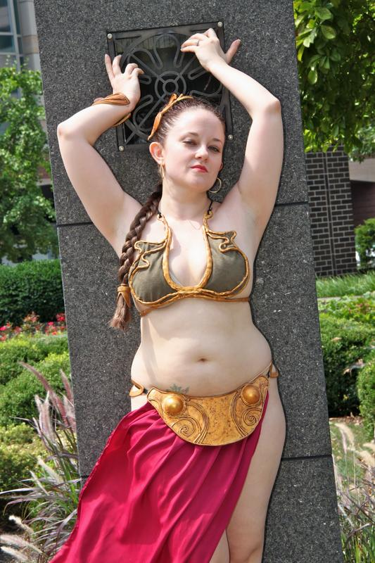 Slave Leia by DancingLeia ...  sc 1 st  DeviantArt : jabba and leia costume  - Germanpascual.Com