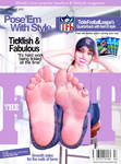 TheFeetMagazine Cover October