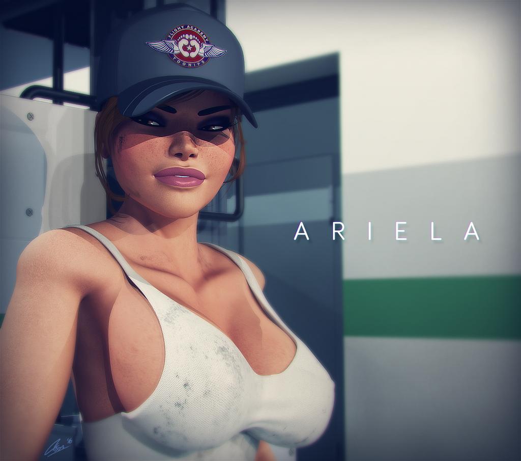 Ariela Portrait by CToon