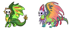Dragon Adoptables CLOSED by WindSwirl