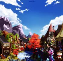 Schlacht um Runeterra: Bandle City by WindSwirl