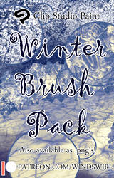 Winter Pack Brush Pack (Small Version) by WindSwirl