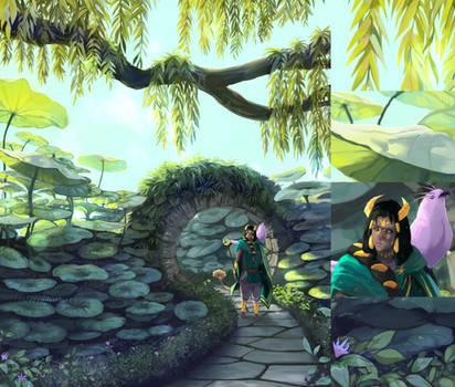 Secret Garden [Commission] by WindSwirl
