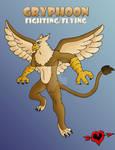 Gryphoon - Fighting Flying Fakemon