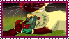 Conni and Link Stamp by Hawkpelt22