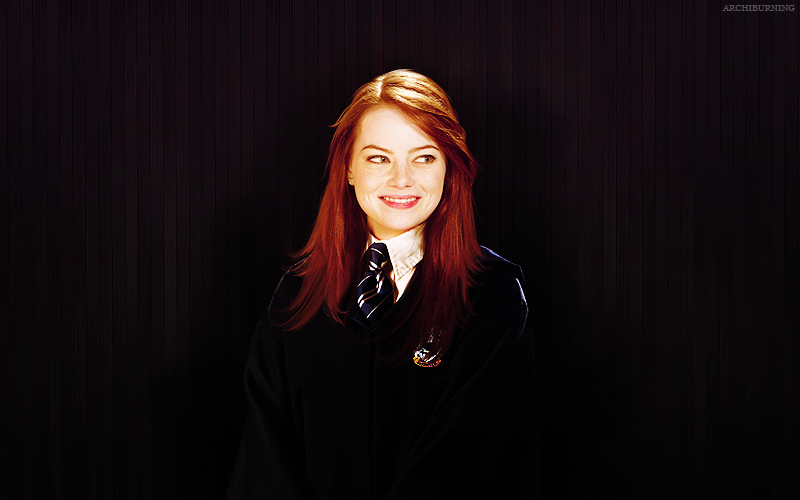 LOOK WHAT I FOUND! Emma_stone___ravenclaw_by_archiburning-d4dq0n5