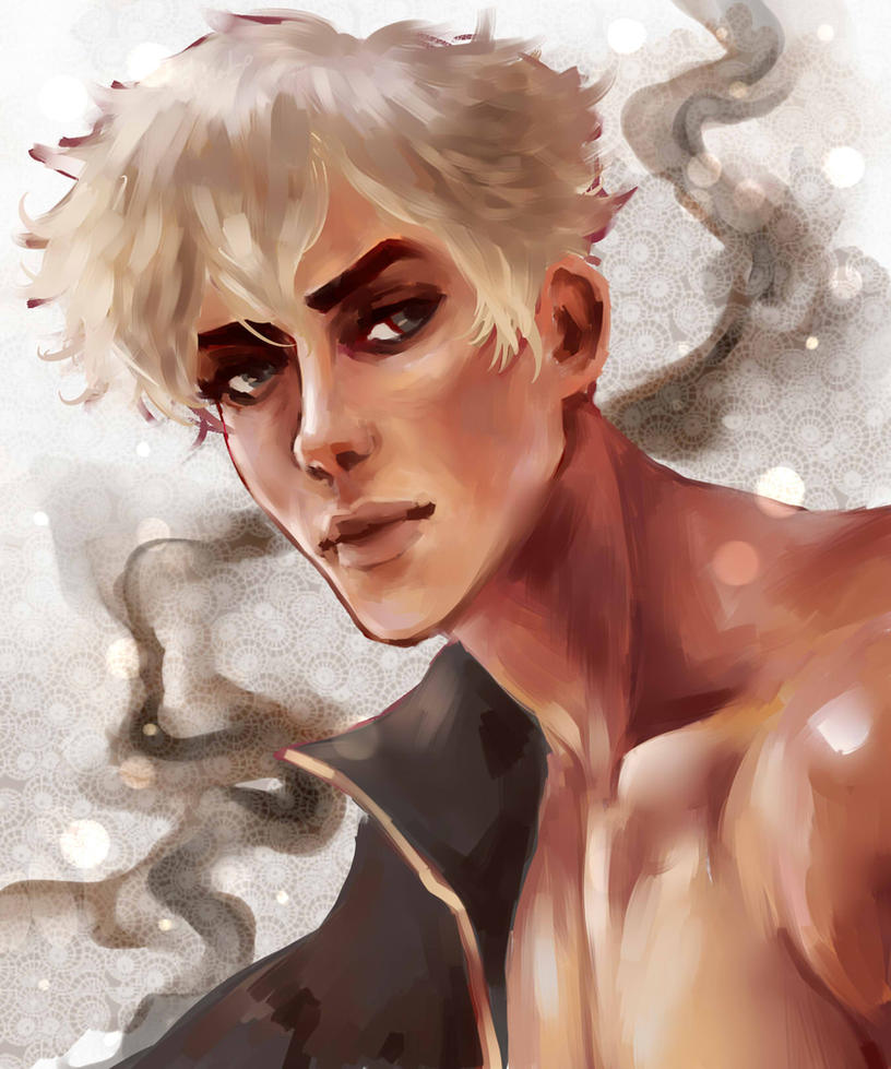 Ganymede Portrait by breevey10
