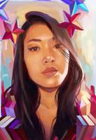 Star... Self Portrait by breevey10