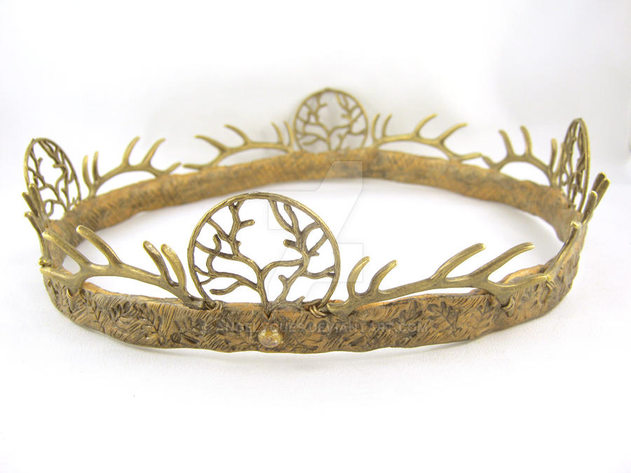 Renly Baratheon Game of Thrones Brass Crown by angelyques