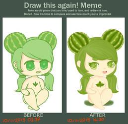 Draw this again meme! by mzza-art