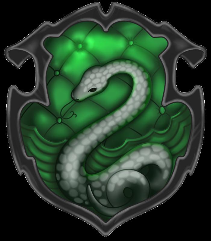 Pottermore Slytherin Crest By Mzza Art