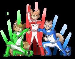 ..: GO GO POWER RANGERS:.. by kogasaur