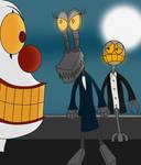 Bert and Erica vs. Mr. Chuckles