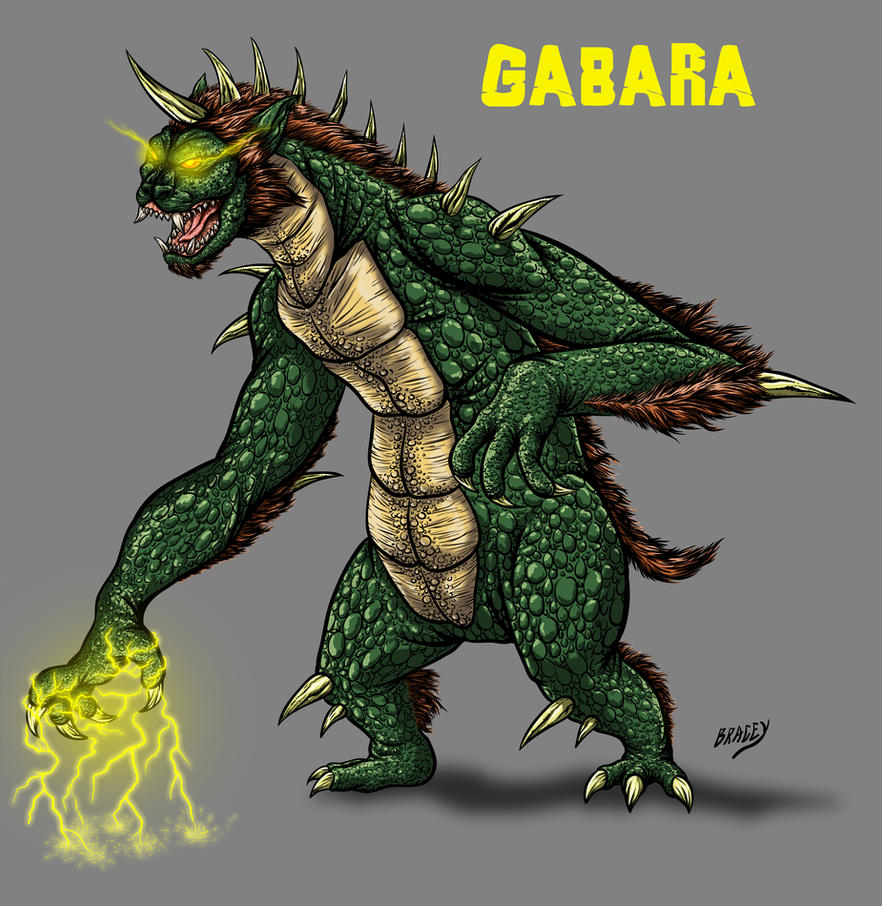 Kaiju Revamp - Gabara by Bracey100