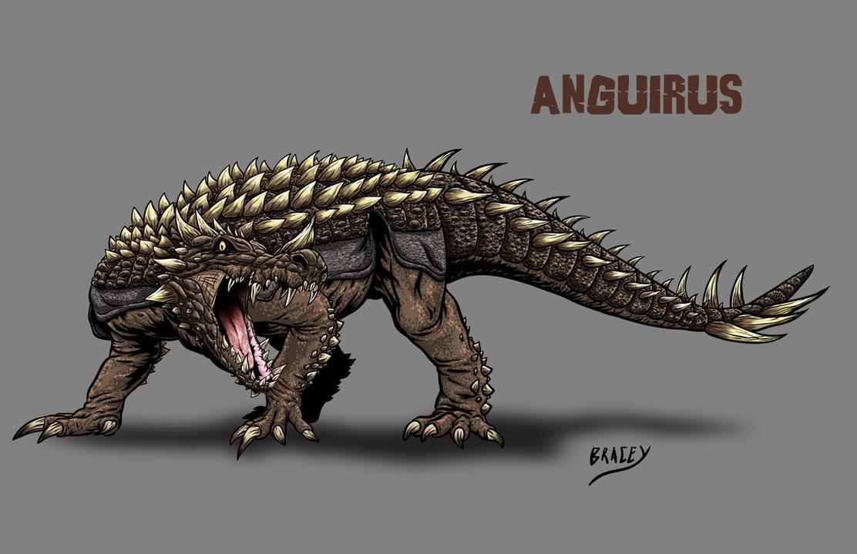 Kaiju Revamp - Anguirus by Bracey100