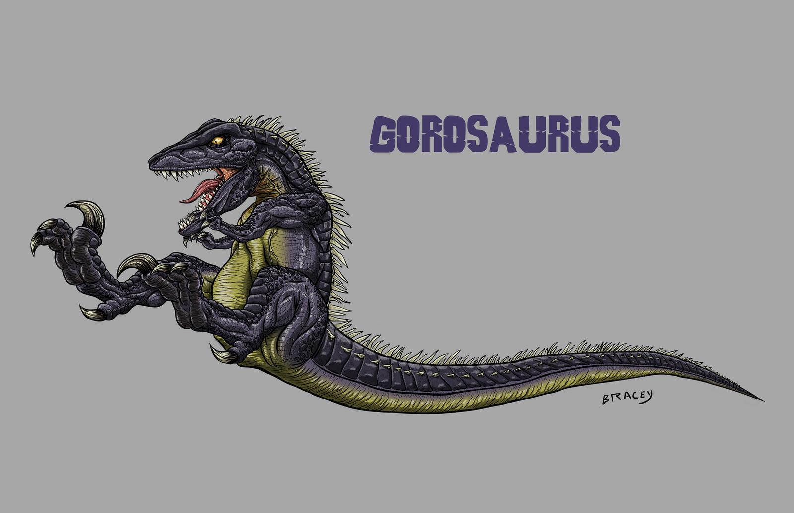 Kaiju Revamp - Gorosaurus by Bracey100
