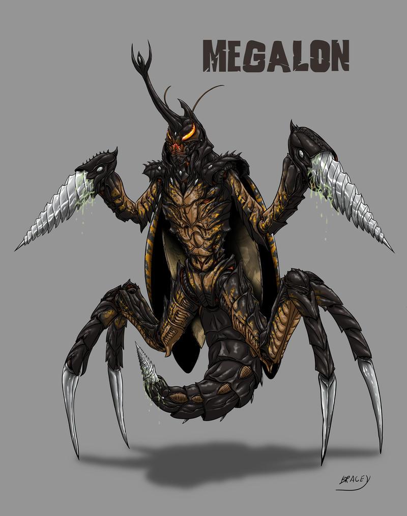 Kaiju Revamp - Megalon by Bracey100
