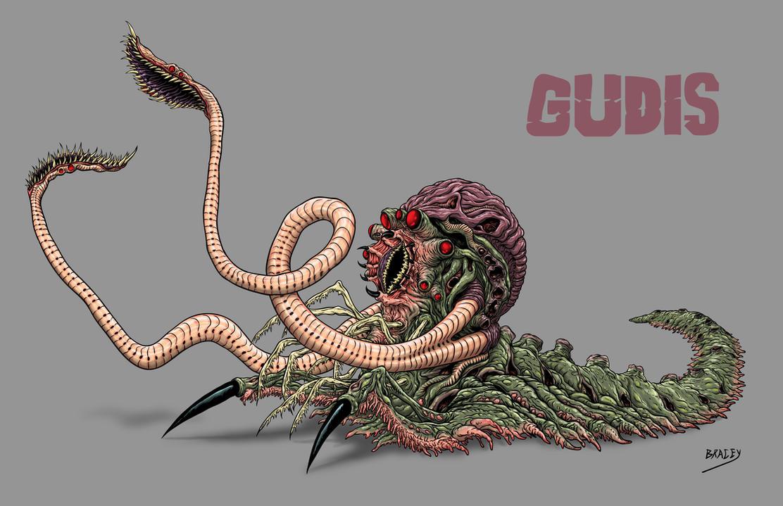 Kaiju Revamp - Gudis by Bracey100