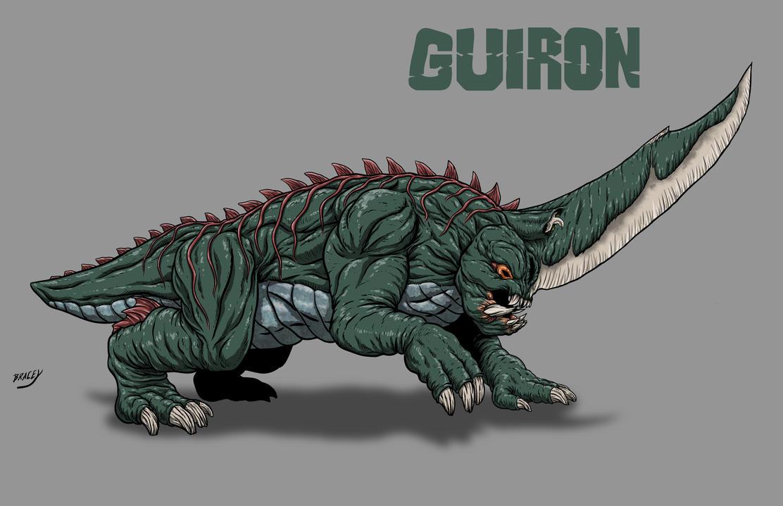 Kaiju Revamp - Guiron by Bracey100