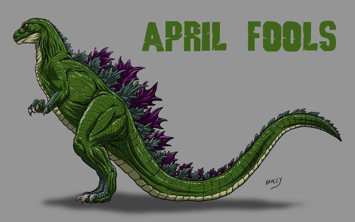 Kaiju Revamp - Aprii Fools by Bracey100