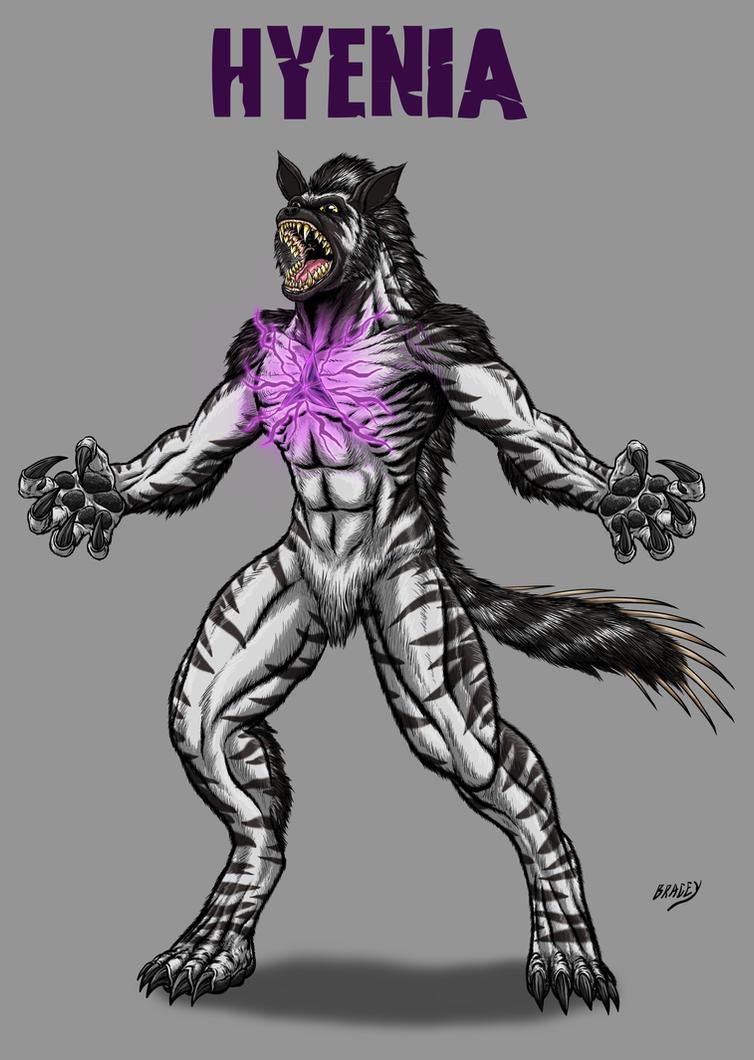 Kaiju Commissions - Hyenia by Bracey100