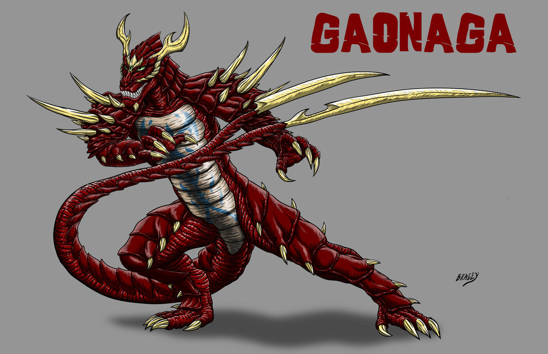 Kaiju Commission - Gaonaga by Bracey100