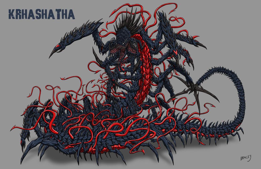 kaiju commission krhashatha by bracey100 on deviantart