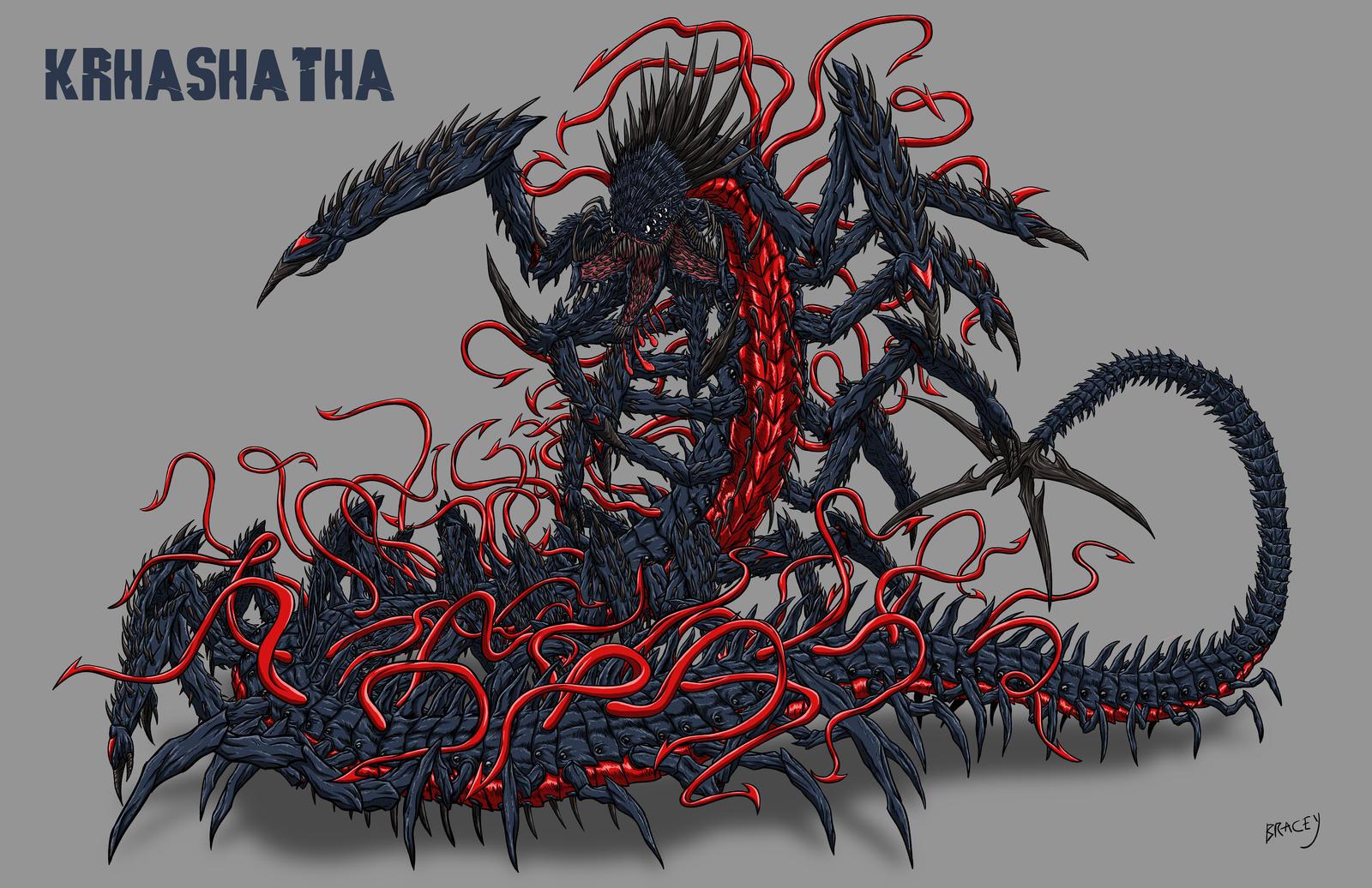 Kaiju Commission - KRHASHATHA by Bracey100