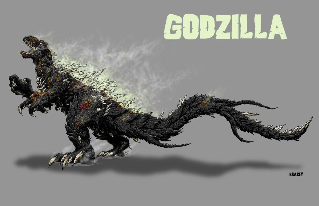 Kaiju Revamp - Godzilla 1954 by Bracey100