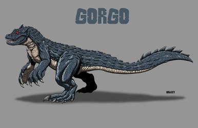 Kaiju Revamp - Gorgo by Bracey100