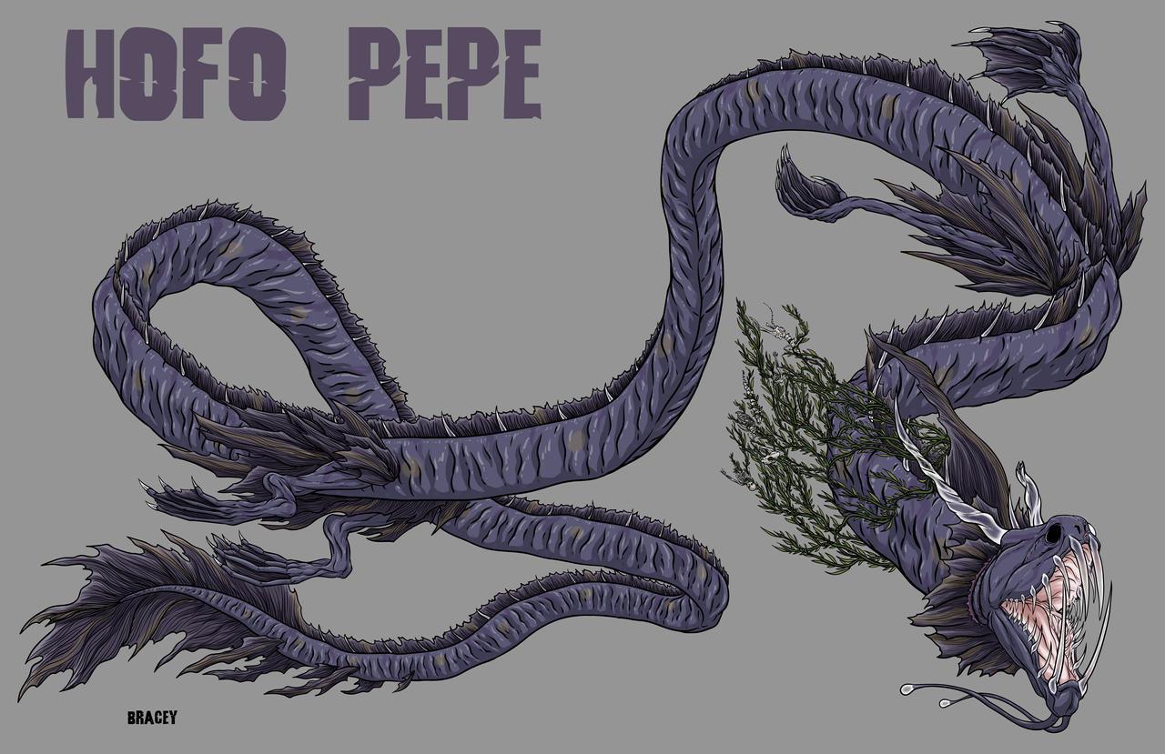 Kaiju Commission - Hofo Pepe (day skin) by Bracey100
