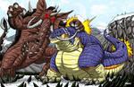 Kaiju Commission - Brutusk vs Macrosaurus