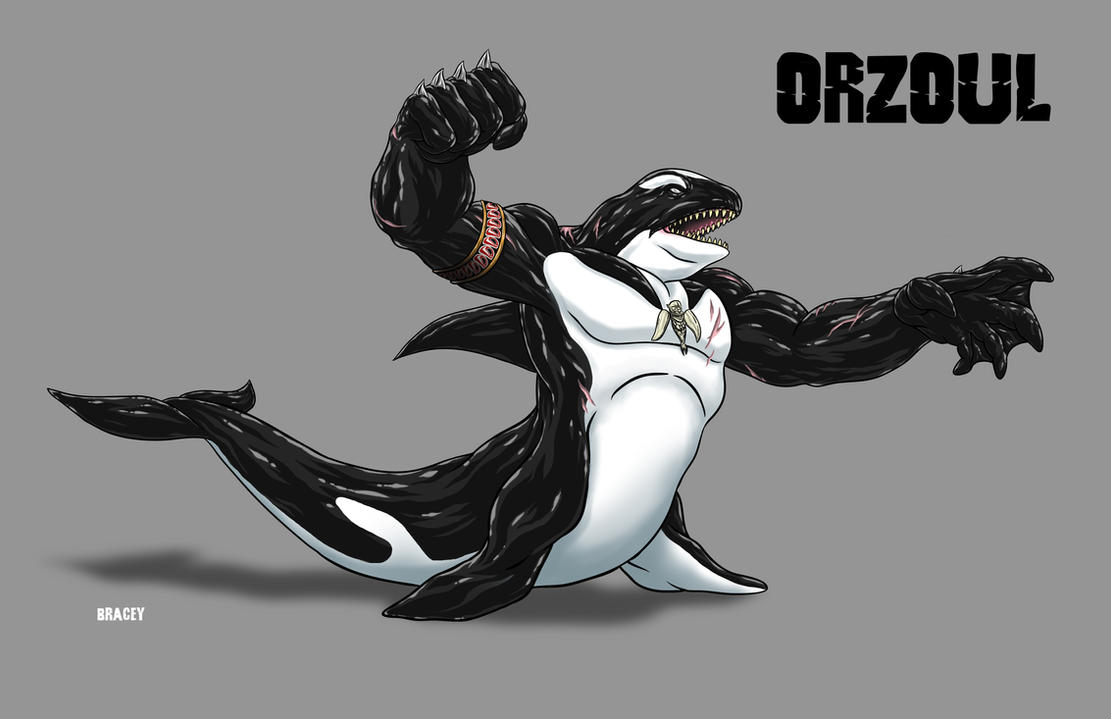 Kaiju Commission - Deep Sea God: ORZOUL by Bracey100