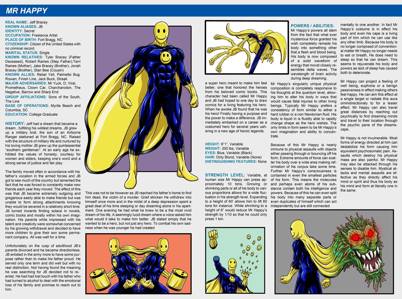 Southern Comics Handbook - Mr Happy