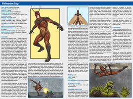 Southern Comics Handbook: Palmetto Bug by Bracey100