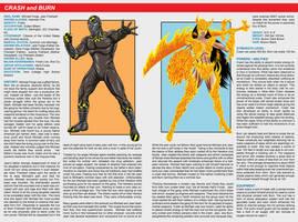 Southern Comics Handbook: Crash and Burn by Bracey100