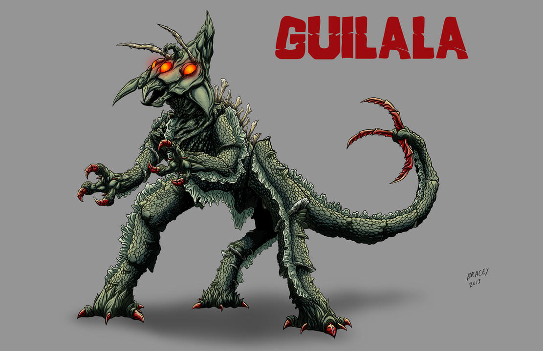 Kaiju Revamp - Guilala by Bracey100