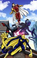 Favorite DA Super Heroes by Bracey100