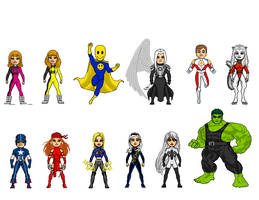 Q Class Micro Heroes - MSH rpg