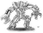 Kaiju Commissions - Brain Case 3