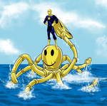 DU January Challenge - Mr Happy Octopaddler