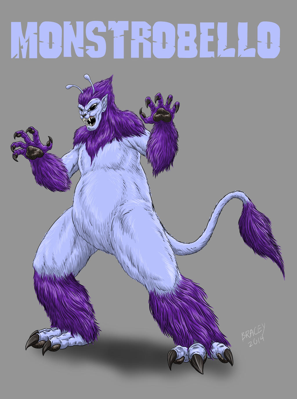 Kaiju Commissions - MonstroBello by Bracey100