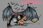 Kaiju Commissions - Aggredora