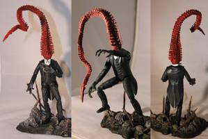Nyarlathotep - Mid-transformation.