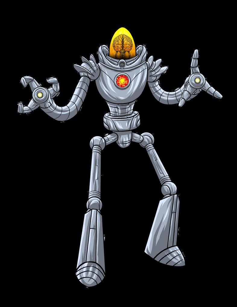 Hero Commissions: Alien Brain by Bracey100